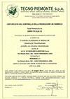 Certificazione Calcestruzzo Mirandola 2