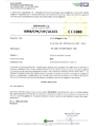 Certificato CE di controllo fabbrica