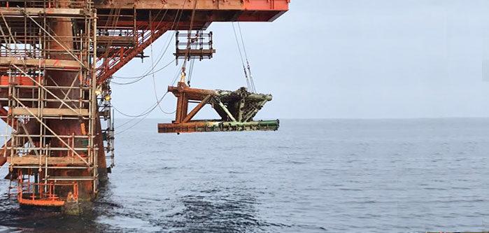 montaggi meccanici in mare